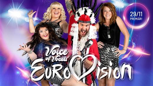Bild för VOICE OF VOCALS - EUROVISION CHRISTMAS SHOW 6/12, 2019-12-06, Apollon, Folkets Hus Kulturhuset