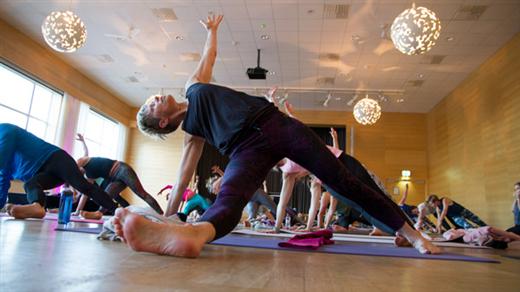 Bild för River View Yoga Day, 2018-10-13, Kongressalen (M)