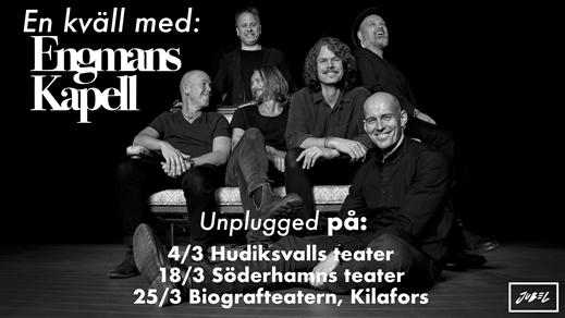 Bild för En kväll med Engmans Kapell - unplugged, 2018-03-25, Biografteatern Kilafors