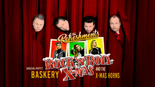 Bild för The Refreshments & Baskery, 2019-12-18, Jönköpings Teater