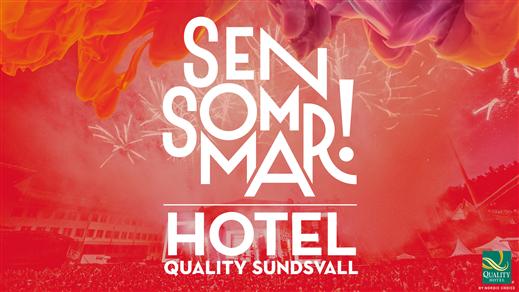 Bild för Hotell: Sensommar 2020, 2020-07-03, Quality Hotel Sundsvall