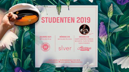 Bild för STUDENTPASS 2019 GG/SLIVER/BACKYARD, 2019-04-30, GG i Uddevalla