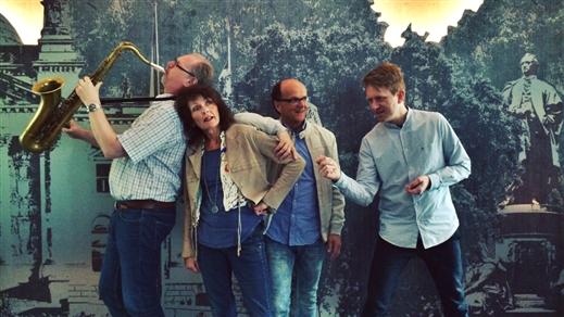 Bild för Parkettmusiken 2020 - Margaretha Evmark Quartet, 2020-07-19, Varbergs Teater
