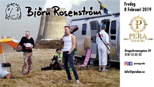 Bild för Björn Rosenström Live på Pera, 2019-02-08, Pera Kök & Bar