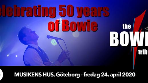 Bild för the BOWIE Tribute, 2021-09-03, Musikens Hus Stora Scen