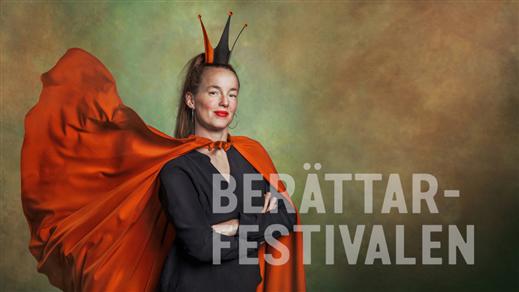Bild för Berättarfestivalens invigning, 2021-10-18, Sara Kulturhus Kulturtrappan