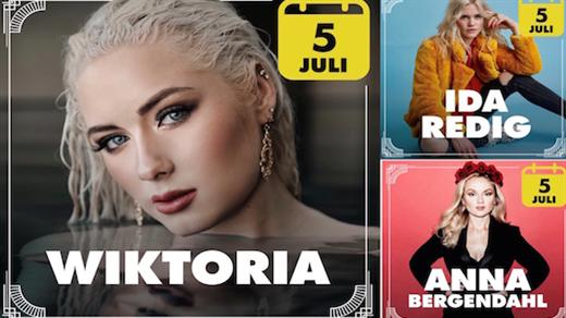 Bild för Wiktoria, Anna Bergendahl, Ida Redig 5e Juli, 2019-07-05, Villa Belparc