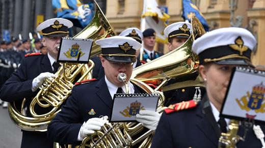 Bild för Vårkonsert med Hemvärnets Musikkår Uppsala, 2018-04-08, UKK - Sal B - Sittande onumrerat