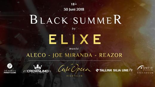 Bild för Black Summer - Dagsfest, 2018-06-30, Café Opera