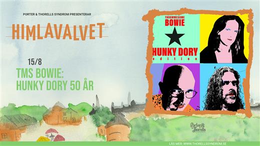 Bild för TMS Bowie: Hunky Dory 50 år!, 2021-08-15, Kafé Himlavalvet