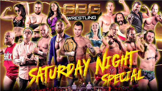Bild för GBG Wrestling - Saturday Night Special, 2019-02-23, Pustervik