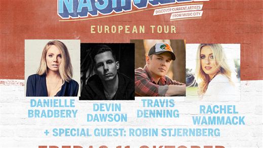 Bild för Introducing Nashville, 2019-10-11, Nalen – Stora Salen, Stockholm