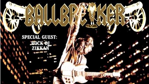 Bild för BALLBREAKER + Rock DJ Zikkan, 2020-02-21, PALATSET