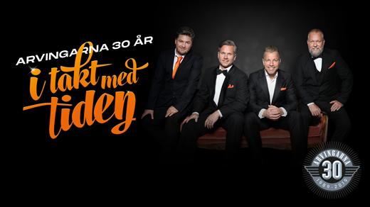 Bild för Arvingarna 30 år - I takt med tiden, 2020-09-14, Jönköpings Konserthus Elmia #2
