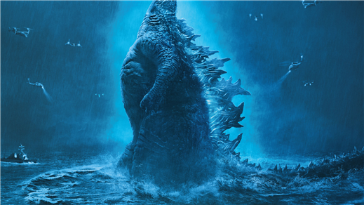 Bild för Godzilla II King of the Monsters, 2019-06-02, Bräcke Folkets hus