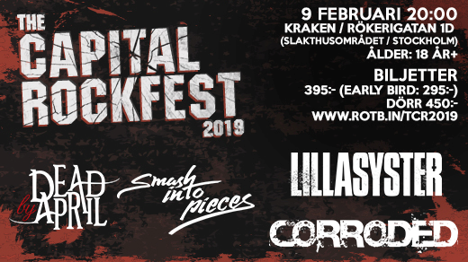 Bild för THE CAPITAL ROCKFEST 2019, 2019-02-09, Kraken