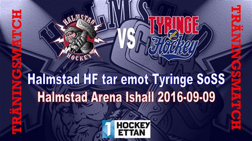 Bild för Halmstad HF vs. Tyringe SoSS Träningsmatch, 2016-09-09, Halmstad Arena