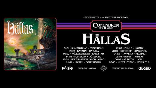 Bild för Hällas + Hollow Ship, 2020-02-14, Pustervik