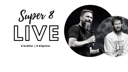 Bild för Super 8 Live - Magnus Betnér & Henrik Nyblom, 2021-05-23, STÅ - Pintxos & Vänner