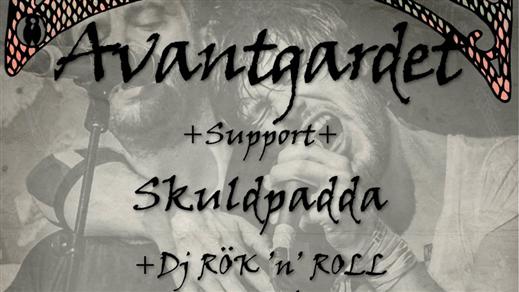 Bild för Avantgardet + Support: Skuldpadda & DJ, 2018-10-27, Klubb Undergrunden