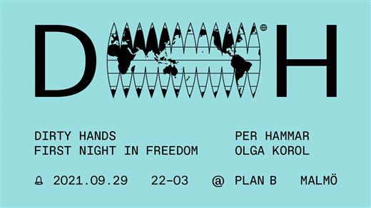 Bild för First Night In Freedom w/ Per Hammar + Olga Korol, 2021-09-29, Plan B - Malmö