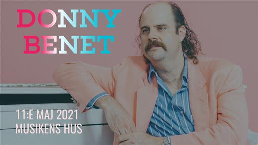 Bild för Donny Benet (AUS), 2021-05-11, Musikens Hus Stora Scen