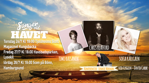 Bild för Sånger vid havet, 2018-07-28, Scen på Bönn