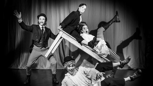 Bild för Buster Keaton på månen, 2021-10-09, Unga Klara, Kulturhuset Stadsteatern