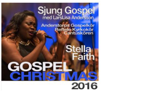 Bild för Gospel Christmas 2016 Sjung Gospel m.fl 19:30, 2016-12-03, Reftele Kyrka