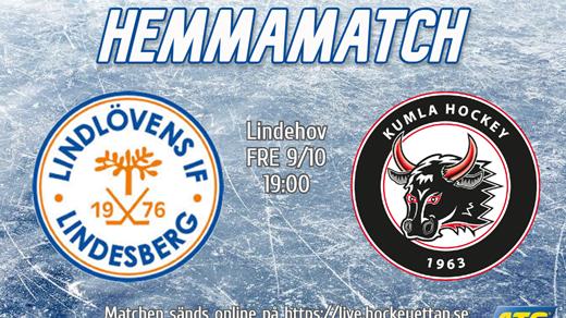 Bild för Lindlöven vs Kumla, 2020-10-09, Lindehov