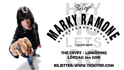 Bild för MARKY RAMONE (us) + special guests, 2022-06-18, The Crypt LKPG