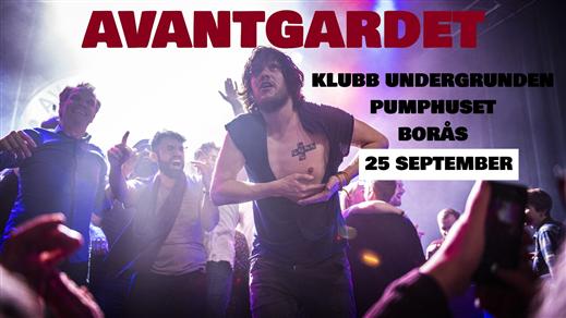 Bild för Avantgardet + Support Live på Klubb Undergrunden, 2020-09-25, Klubb Undergrunden