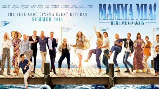 Bild för Mamma Mia! Here We Go Again  DAGBIO, 2018-07-22, Biosalongen Folkets Hus