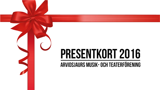 Bild för Presentkort valfri föreställning 2016, 2016-01-01, Medborgarhuset