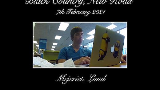 Bild för Black Country, New Road, 2021-02-07, Mejeriet