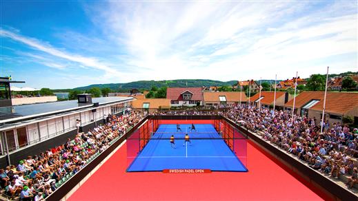 Bild för Swedish Padel Open, 2018-07-25, Båstad Tennisstadium