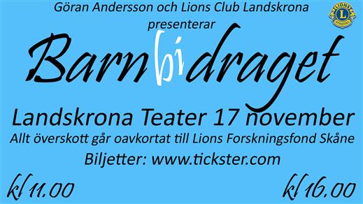 Bild för Barnbidraget 11:00, 2018-11-17, Landskrona Teater
