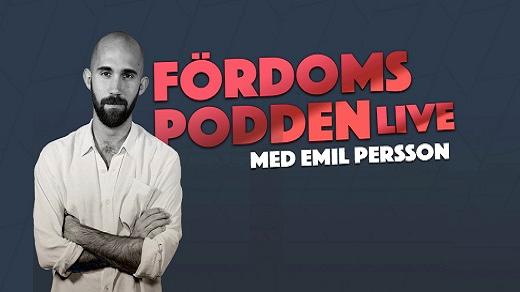 Bild för Fördomspodden Live, 2020-05-22, Växjö konserthus