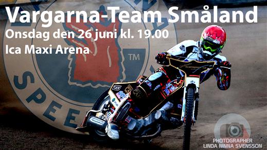 Bild för Vargarna-Team Småland, 2019-06-26, ICA Maxi Arena