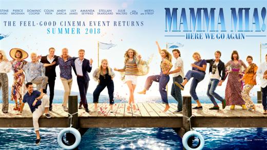 Bild för Mamma Mia! Here We Go Again, 2018-07-22, Bio Oskar