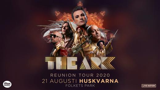 Bild för THE ARK, 2020-08-21, Huskvarna Folkets Park