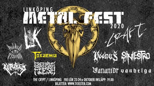 Bild för Linköping Metal Fest 2020 - Lördag, 2020-10-24, The Crypt LKPG