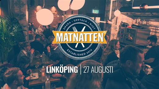 Bild för Matnatten Linköping, 2020-08-27, galleria Gränden