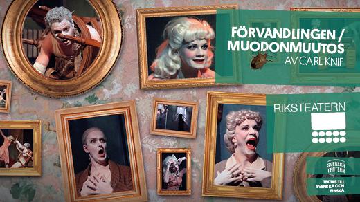 Bild för Förvandlingen - Moudonmuutos, 2019-02-09, Teatersalongen