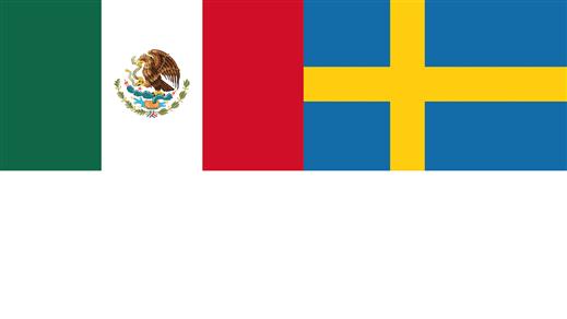 Bild för Mexiko - Sverige, 2018-06-27, Bio Oskar