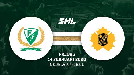 Bild för FÄRJESTAD BK - SKELLEFTEÅ, 2020-02-14, Löfbergs Arena
