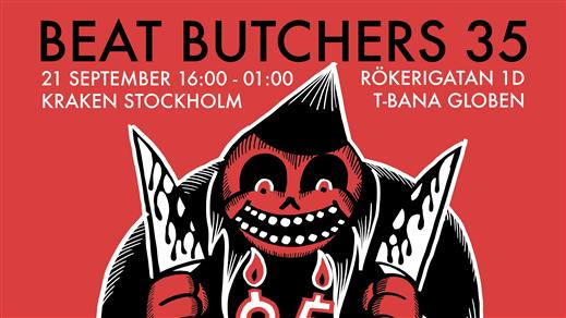 Bild för Beat Butchers 35 år!, 2019-09-21, Kraken