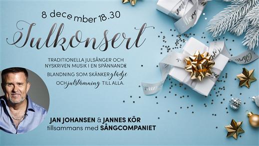 Bild för Julkonsert med Jan Johansen, 2019-12-08, Ansgarskyrkan