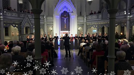 Bild för Vinterfantasi - En julkonsert, 2016-12-15, Ersta kyrka