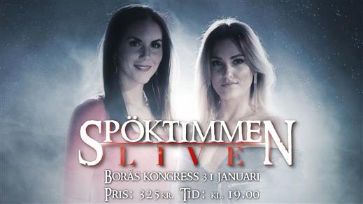 Bild för Spöktimmen LIVE, 2020-01-31, Borås Kongress